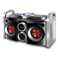 MINI SYSTEM MONDIAL PARTYBOX USB/SD/AUX e Rádio FM - 30W