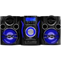 MINI SYSTEM PHILCO 160w FM USB MP3 Bluetooth, Rádio CD, CD-R/RW