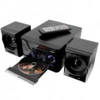 MINI SYSTEM MULTILASER DVD Player, Rádio FM, Karaokê e USB