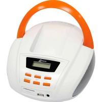 SOM PORTÁTIL PLAYER FM MP3 USB SD CARD