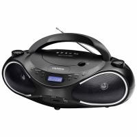 SOM PORTÁTIL CD PLAYER MONDIAL USB FM MP3