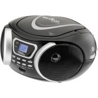 RÁDIO PORTÁTIL CD PLAYER BRITÂNIA  MP3, Display LDC, 3.4W