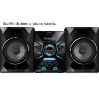 MINI SYSTEM SONY BOMBOX 1000W BLUETOOTH, 2XUSB AM/FM Bluetooth MP3