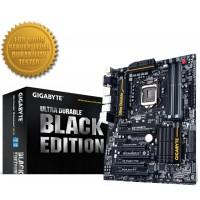 PLACA MÃE GIGABYTE LGA 1150 BLACK EDITION P/ INTEL i3/i5/i7 C/ HDMI