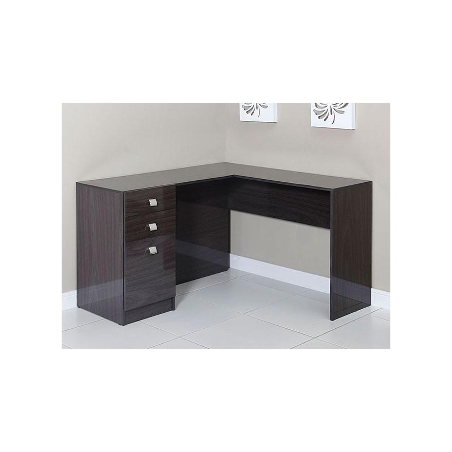Mesa para computador escrivaninha de canto for Muebles para computador de mesa
