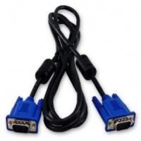 CABO MONITOR VGA 15 PINOS 2m C/ Conversor Otimizador de Imagem liga PC/PC ou PC/TV