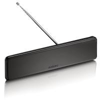 ANTENA TV INTERNA PHILIPS AMPLIFICADA VHF UHF FM HDTV (DIGITAL)