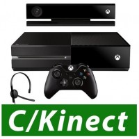 CONSOLE XBOX ONE 500GB + KINECT  + CONTROLE WIRELESS + HEADSET