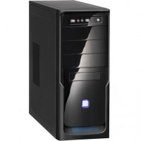 GABINETE ATX 3 BAIAS BLACK PIANO + USB FRONTAL 2.0