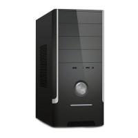 GABINETE ATX 4 BAIAS + FONTE 230w DUAL USB FRONTAL