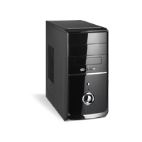 COMPUTADOR (Gabinete) AMD ATHLON QUAD CORE 2GB RAM HD 160GB