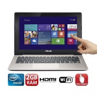 NOTEBOOK ASUS INTEL DUAL CORE 2GB RAM HD 500GB TELA TOUCH 11 WIN8