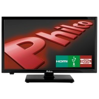 TV LED 19.8 PHILCO HDMI DTV Conversor Digital USB VGA