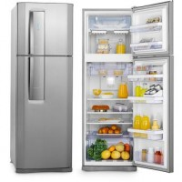 REFRIGERADOR ELECTROLUX INOX FROST FREE 2 PORTAS 380L PAINEL TOUCH
