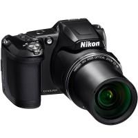 CÂMERA DIGITAL PROFISSIONAL NIKON 38X 16MPX Full HD 1080p Wifi Preta