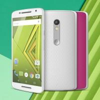 SMARTPHONE MOTOROLA 4G TELA HD 5.5 CAM 21 MPX 16GB ANDROID 5 BRANCO/ROSA