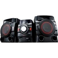 MINI SYSTEM LG 550W Bluetooth com CD Player Rádio AM/FM USB MP3