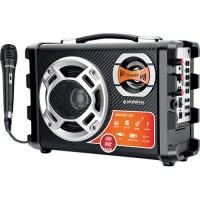 CAIXA DE SOM MONDIAL 40W FM, USB SD + Microfone