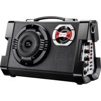 CAIXA DE SOM MULTILASER 80 SD USB KARAOKE FM