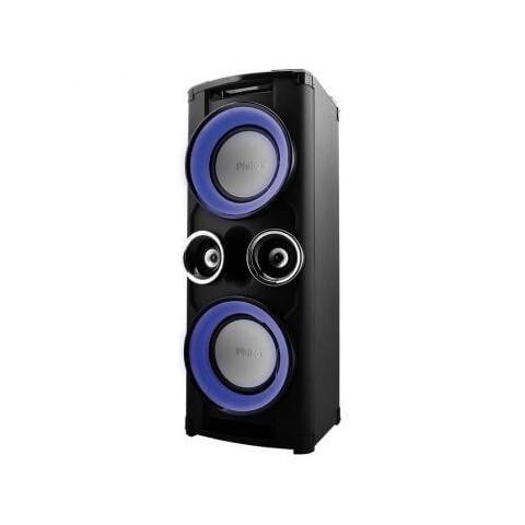a8903531777 CAIXA DE SOM PHILCO TORRE 1200W FM USB SD Bluetooth MP3 Philco PHT12000