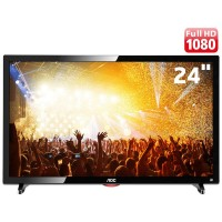 TV 24 FULL HD AOC WIDESCREEN HDMI USB CONVERSOR DIGITAL VGA