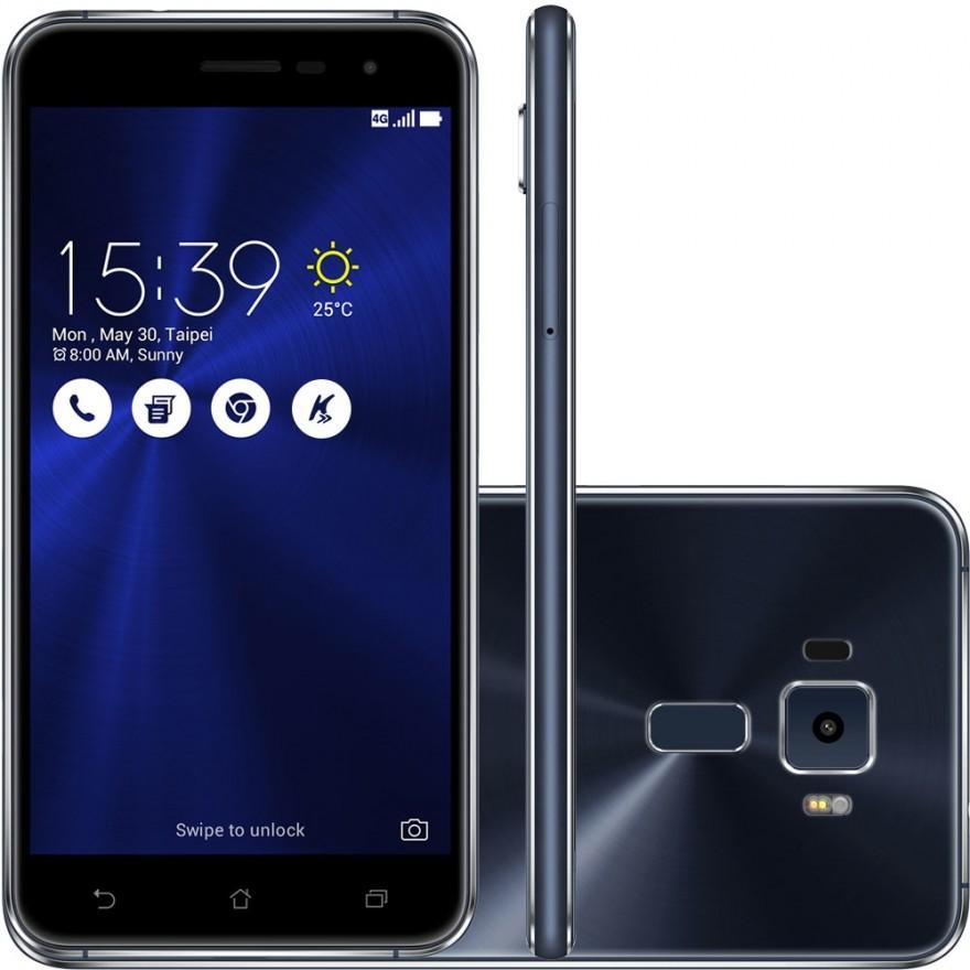 smartphone asus zenfone tela hd 5 5 cam 16mpx 64gb 4g 4gb ram android 6 ze552kl 1a037br. Black Bedroom Furniture Sets. Home Design Ideas