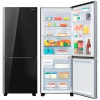 REFRIGERADOR PANASONIC ALL BLACK C/FREEZER 420L Inverter  Frost Free