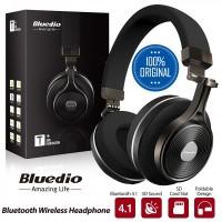 FONE DE OUVIDO HEADSET WIRELESS Bluetooth Bluedio Metal DJ Professional Cool