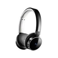 FONE DE OUVIDO HEADSET WIRELESS Bluetooth PHILIPS AllBlack c/Microfone