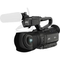 FILMADORA PROFISSIONAL JVC 4K ULTRA HD ZOOM 12X C/ MICROFONE