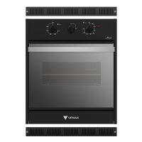 FORNO DE EMBUTIR VENAX C/ GRILL 750w BLACK