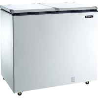 FREEZER DUAL DOOR 136W ESMALTEC 300L
