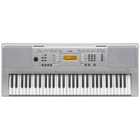 TECLADO MUSICAL YAMAHA 61 TECLAS 550 VOICES FIVE EFECTS - PRATA - 5W