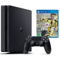 CONSOLE PLAYSTATION 4 500GB Slim + Jogo FIFA