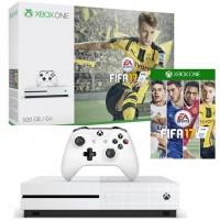 CONSOLE XBOX ONE 500GB V17S ULTRA HD 4K + CONTROLE - BRANCO + 01 Jogo FIFA 2017