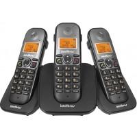 TELEFONE SEM FIO C/ 02 RAMAIS