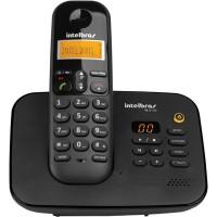 TELEFONE SEM FIO INTELBRAS C/ SECRETARIA ELETRONICA + 04 RAMAIS