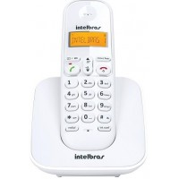 TELEFONE SEM FIO INTELBRAS COM IDENTIFICADOR - 1.9GHZ - BRANCO