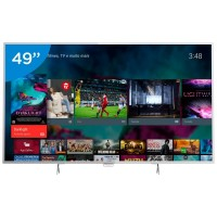 TV 49 4K ULTRA HD HDMI USB WIFI C/ ANDROID CONVERSOR DIGITAL