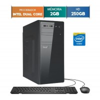 GABINETE EASYPC DUAL CORE 2GB RAM HD 250GB WIN 10