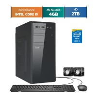 GABINETE EASYPC CORE I5 4GB RAM HD 1TB WIN 10