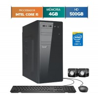 GABINETE EASYPC CORE I5 4GB RAM HD 500GB WIN 10