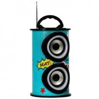 Caixa de Som Amplificada 25w Bluetooth USB SD FM Beats RFC
