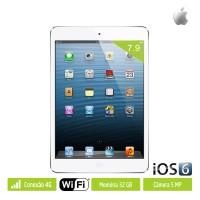 "iPad Mini Apple Tela 7,9"" 32GB Wi-Fi iOS6 c/ CONEXÃO 4G"