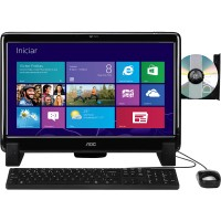 COMPUTADOR ALL IN ONE AOC TELA DE 20' SUPER HD DE 1TB  4GB RAM WIN8