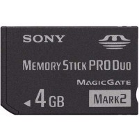 CARTAO DE MEMORIA 4GB MEMORY STICK - SONY