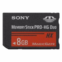 CARTAO DE MEMORIA 8GB MEMORY STICK - SONY