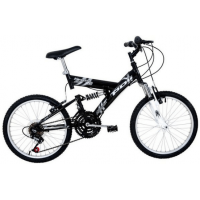 BICICLETA 18 MARCHAS ARO 20 FULL SUSPENSION
