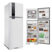 GELADEIRA BRASTEMP 398L Duplex Frost Free Painel Touch - BRANCA