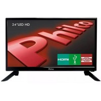TV 24 PHILCO LED HDMI USB CONVERSOR DIGITAL HD DTV SURROUND